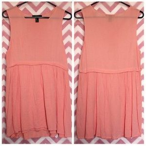 Forever 21 Tops - Forever 21 Peach Tunic Size M
